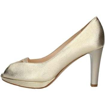 Schuhe Damen Pumps Musella C18300 Pumps Frau Platin Platin
