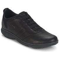 Schuhe Herren Sneaker Low Geox NEBULA B Schwarz