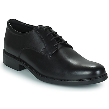 Schuhe Herren Derby-Schuhe Geox CARNABY D Schwarz