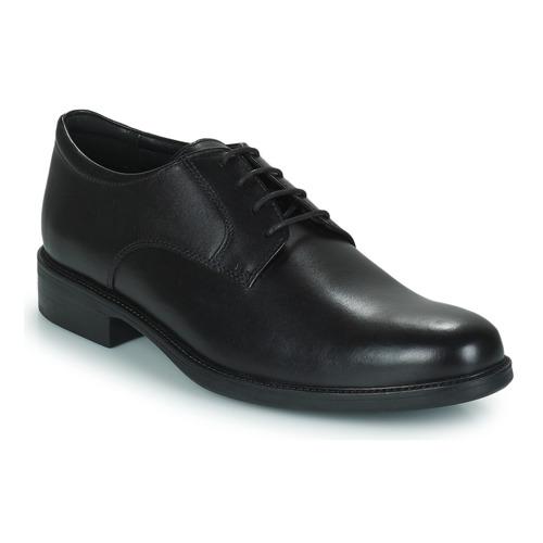 Geox CARNABY D Schwarz Schuhe Derby-Schuhe Herren 65,40