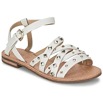 Schuhe Damen Sandalen / Sandaletten Geox JOLANDA E Weiss