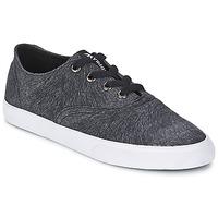 Schuhe Damen Sneaker Low Supra WRAP Schwarz / Weiss