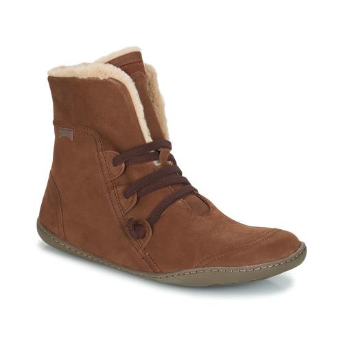 Camper PEU CAMI Braun  Schuhe Boots Damen 190