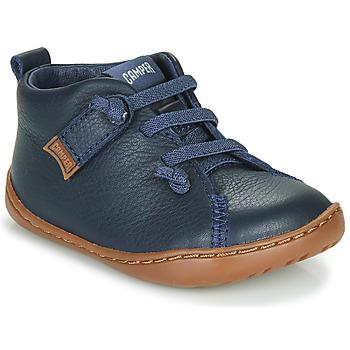Schuhe Jungen Sneaker Low Camper PEU CAMI Blau