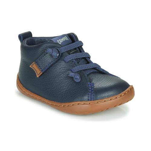 898f3ed78a27fd Camper PEU CAMI Blau - Kostenloser Versand bei Spartoo.de ! - Schuhe ...