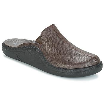 Schuhe Herren Hausschuhe Romika MOKASSO 202 G Braun
