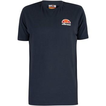 Kleidung Herren T-Shirts Ellesse Herren Canaletto T-Shirt, Blau blau