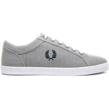 Schuhe Sneaker Low Fred Perry ZAPATILLA BASELINE PIQUE 1964 Silber