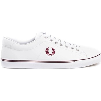 Schuhe Sneaker Low Fred Perry ZAPATILLA UNDERSPIN LEATHER Weiß