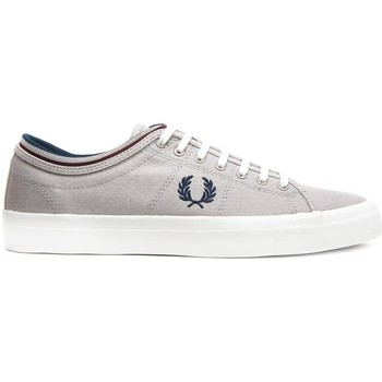 Schuhe Sneaker Low Fred Perry ZAPATILLA KENDRICK TIPPED CUFF CANVAS Grau
