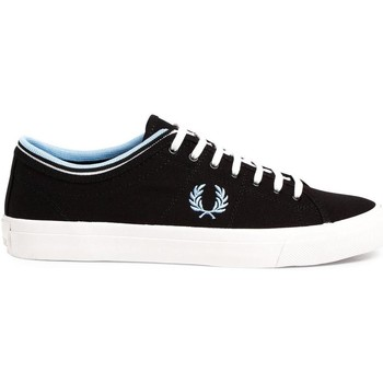 Schuhe Sneaker Low Fred Perry ZAPATILLA KENDRICK TIPPED CUFF CANVAS Blue