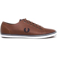 Schuhe Sneaker Low Fred Perry ZAPATILLA KINGSTON LEATHER Braun