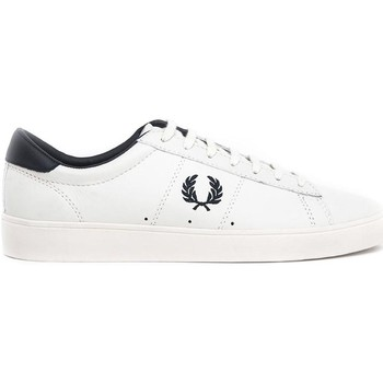 Schuhe Sneaker Low Fred Perry ZAPATILLA SPENCER LEATHER Weiß