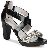 Schuhe Damen Sandalen / Sandaletten Perlato IREGUA Schwarz