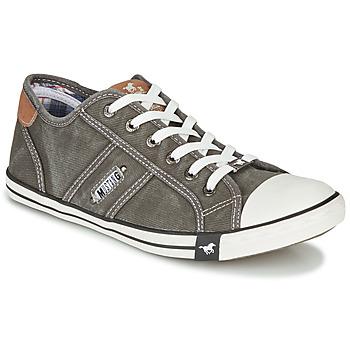 Schuhe Herren Sneaker Low Mustang TIRON Grau