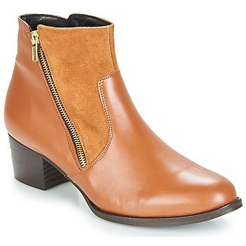 Schuhe Damen Low Boots So Size JOCASSU Camel