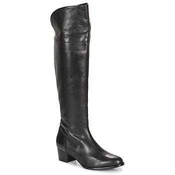 Schuhe Damen Kniestiefel So Size JICHELIEU Schwarz