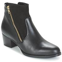Schuhe Damen Low Boots So Size JOCASSU Schwarz