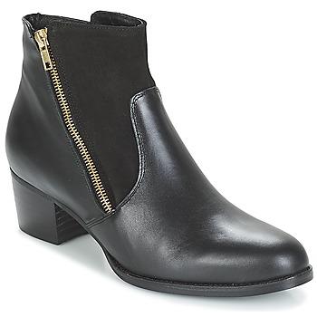 Schuhe Damen Low Boots So Size JOPESE Schwarz