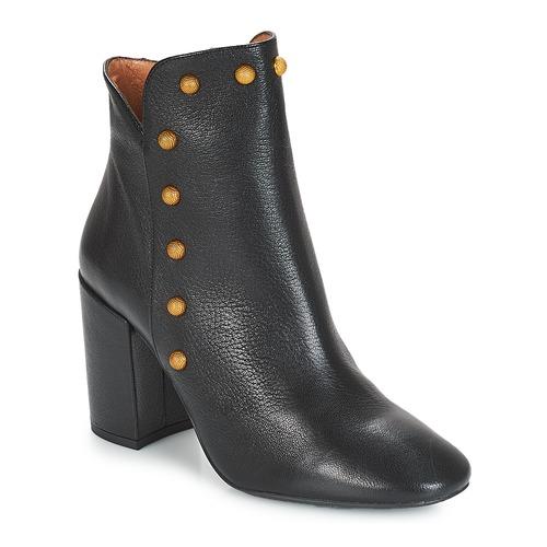 Fericelli JATTIPALIA Schwarz Schuhe Low Boots Damen 159