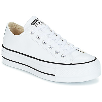 Schuhe Damen Sneaker Low Converse CHUCK TAYLOR ALL STAR LIFT CLEAN OX Weiss