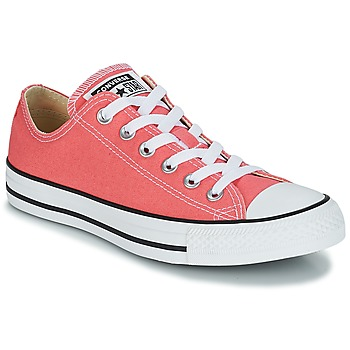 Schuhe Sneaker Low Converse CHUCK TAYLOR ALL STAR OX Orange / Korallenrot