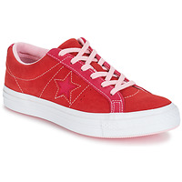 Schuhe Damen Sneaker Low Converse ONE STAR OX Rot / Rose
