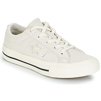 Schuhe Kinder Sneaker Low Converse ONE STAR OX Weiss