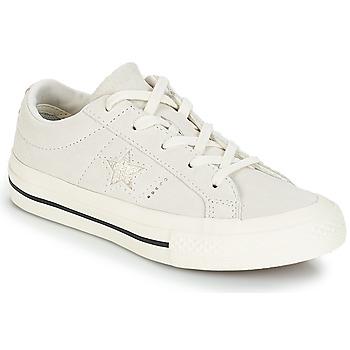 Schuhe Kinder Sneaker Low Converse ONE STAR OX Weiss