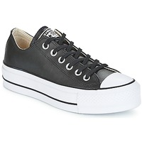 Schuhe Damen Sneaker Low Converse CHUCK TAYLOR ALL STAR LIFT CLEAN OX Schwarz / Weiss