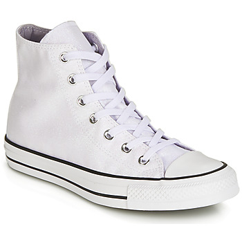 Schuhe Damen Sneaker High Converse CHUCK TAYLOR ALL STAR HI Weiss / Weiss