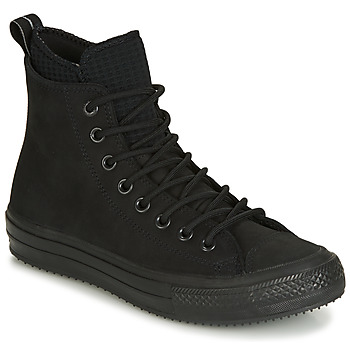 Schuhe Herren Sneaker High Converse CHUCK TAYLOR ALL STAR WP BOOT LEATHER HI Schwarz