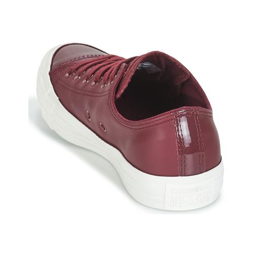 Converse CHUCK TAYLOR ALL STAR LEATHER OX Bordeaux  Schuhe Schuhe Schuhe Turnschuhe Low Damen 093b32