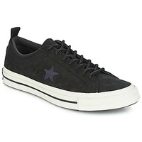 Schuhe Sneaker Low Converse ONE STAR LEATHER OX Schwarz