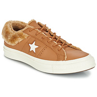 Schuhe Damen Sneaker Low Converse ONE STAR LEATHER OX Camel