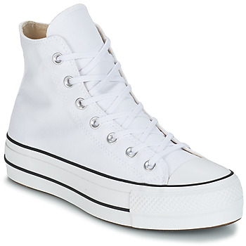Schuhe Damen Sneaker High Converse CHUCK TAYLOR ALL STAR LIFT CANVAS HI Weiss