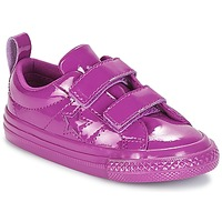 Schuhe Mädchen Sneaker Low Converse ONE STAR 2V SYNTHETIC OX Violett