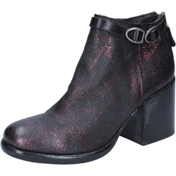 Schuhe Damen Low Boots Moma BY909 rot