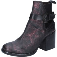 Schuhe Damen Low Boots Moma BY911 rot