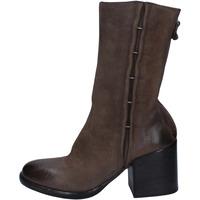 Schuhe Damen Boots Moma BY941 grau