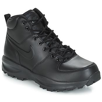Schuhe Herren Boots Nike MANOA LEATHER BOOT Schwarz