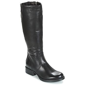 Schuhe Damen Klassische Stiefel Dream in Green ACHMED Schwarz