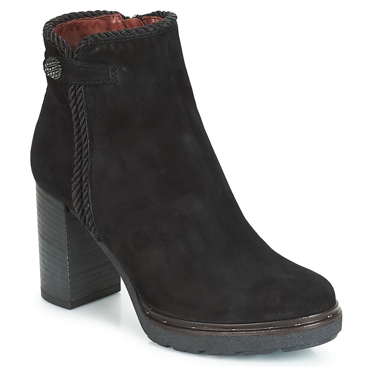 Dream in Green JATUREL Schwarz - Kostenloser Versand bei Spartoode ! - Schuhe Low Boots Damen 119,00 €