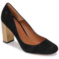 Schuhe Damen Pumps Betty London JIFOLU Schwarz / Gold