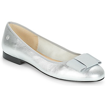 Schuhe Damen Ballerinas Betty London FLORETTE Silbern