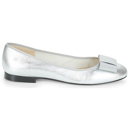 Betty London FLORETTE Silbern Schuhe Ballerinas Damen 79,99