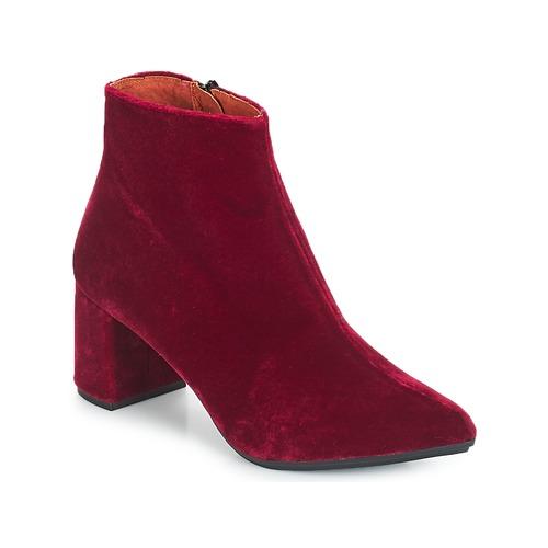 Betty London JILOUTE Bordeaux  Schuhe Low Boots Damen 69,99