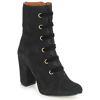 Schuhe Damen Low Boots Betty London JIFULA Schwarz