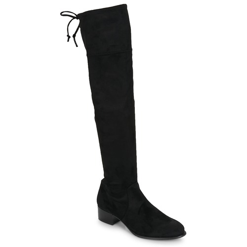 Betty London JAZUMI Schwarz  Schuhe Kniestiefel Damen 88,99