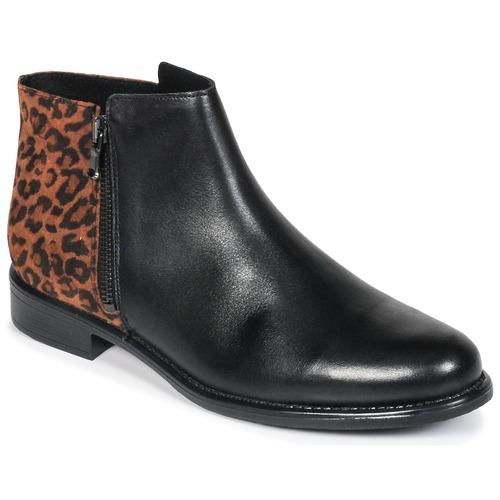 Betty London Schuhe JINANE Schwarz / Braun  Schuhe London Boots Damen 94,99 c65a7d